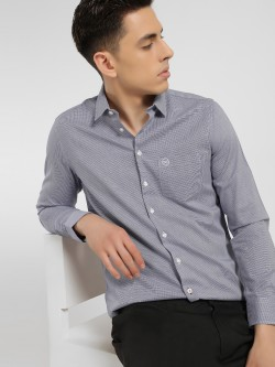 SCULLERS Dobby Slim Fit Shirt