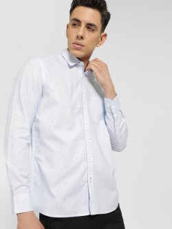 SCULLERS Star Print Oxford Shirt
