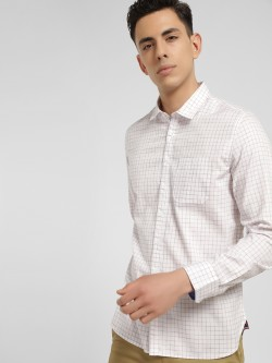 SCULLERS Graph Check Slim Oxford Shirt