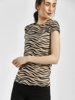 HEY Animal Print Slim Fit T-Shirt