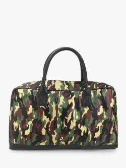 STRUTT Camouflage Print Duffle Bag