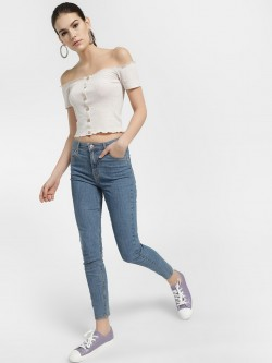 LOVEGEN High Waist Skinny Jeans