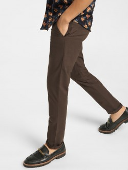 Mr Button Drawcord Slim Trousers