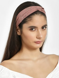 Style Fiesta Multi Interlayered Floral Print Headband