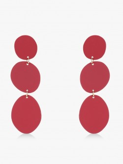 Style Fiesta Ascending Circle Earrings