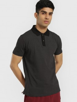 Buffalo Microprint Polo Shirt