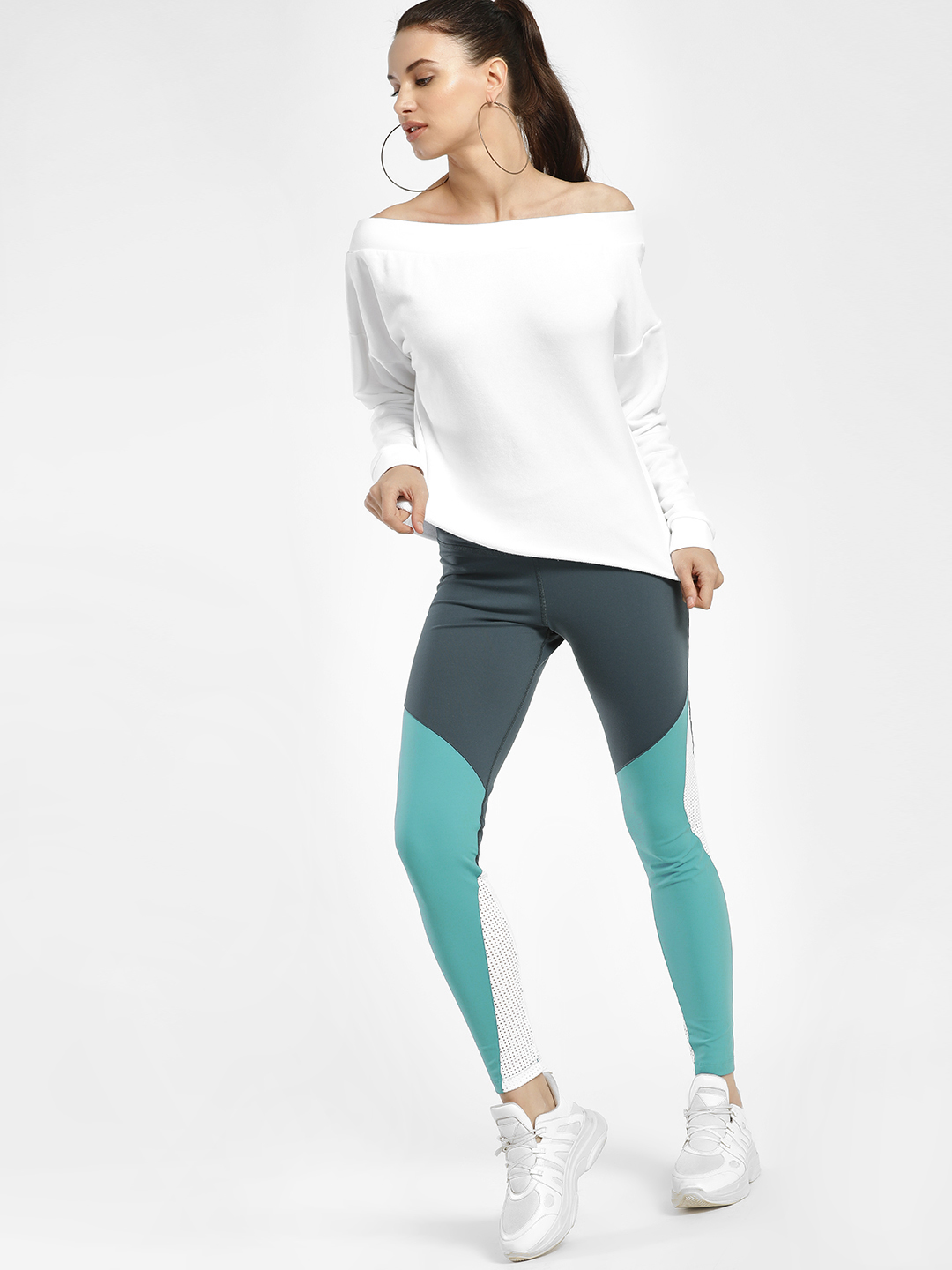 REEBOK Multi Lux Colour Block Tights 1