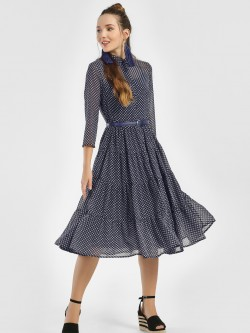 Femella Ditsy Print Shirt Dress