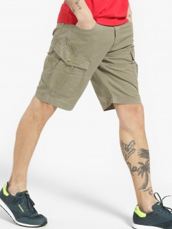 Blue Saint Overdyed Cargo Utility Shorts