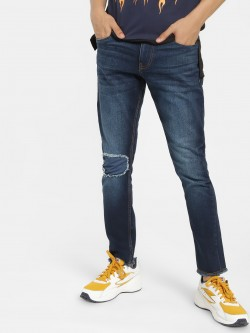 Blue Saint Light Wash Inner Patch Skinny Jeans