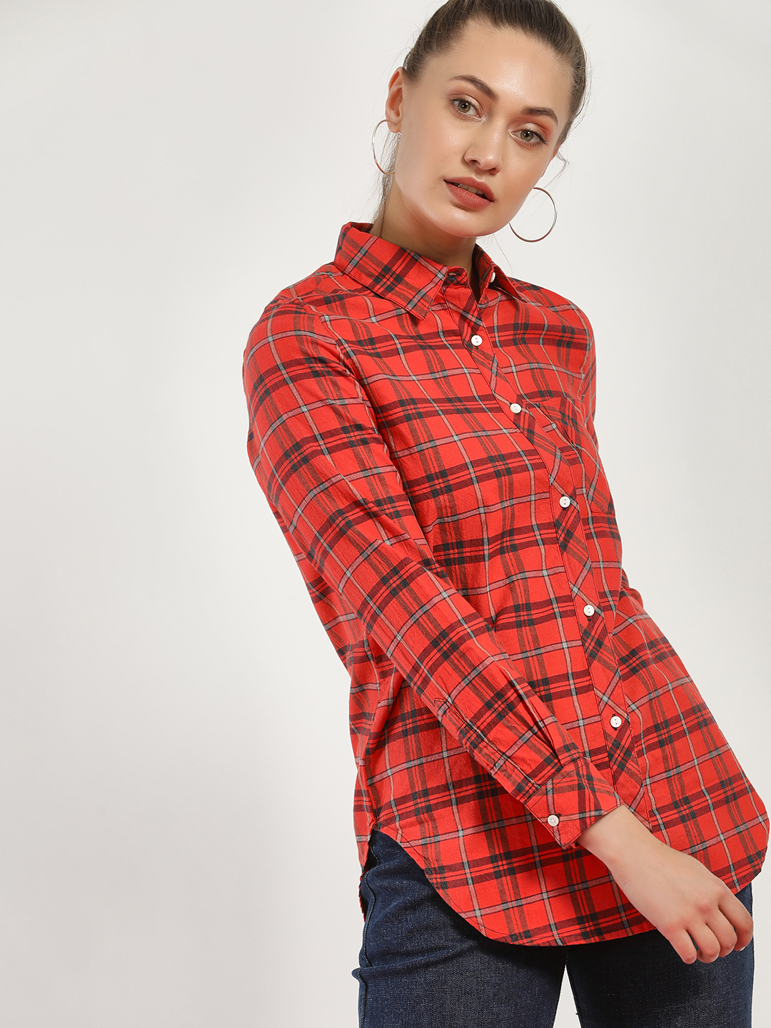 Disrupt Multi Multi-Check Long Sleeve Shirt 1
