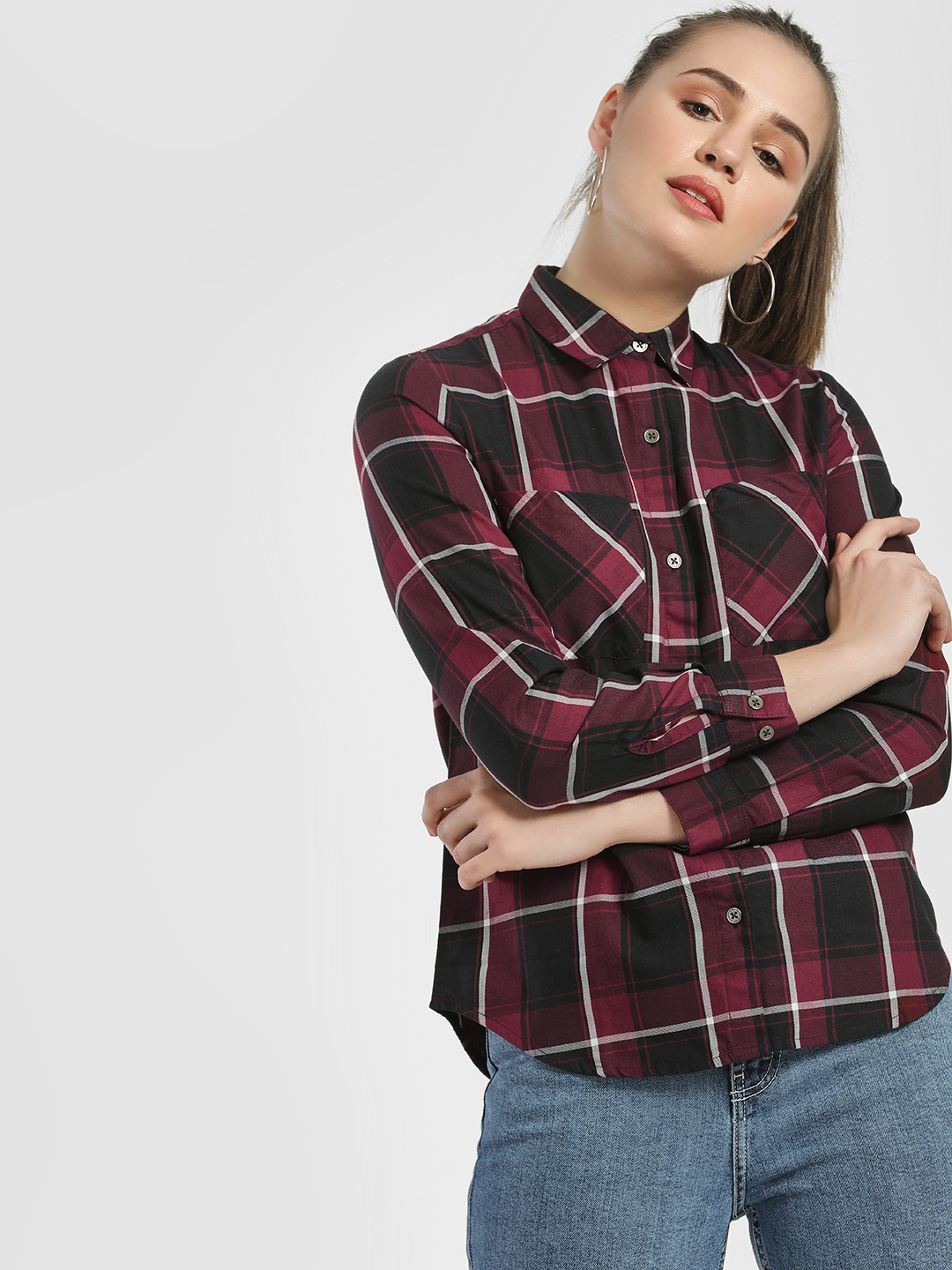 Disrupt Multi Multi Check Casual Shirt 1