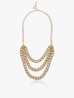 Blueberry Multi-Chain Layered Necklace