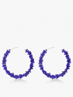 Blueberry Mini Beads Design Hoops