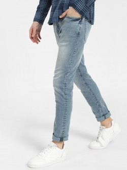 Flying Machine Light Wash Slim Jeans