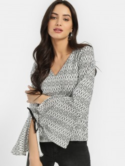 ISU All Over Printed Blouse