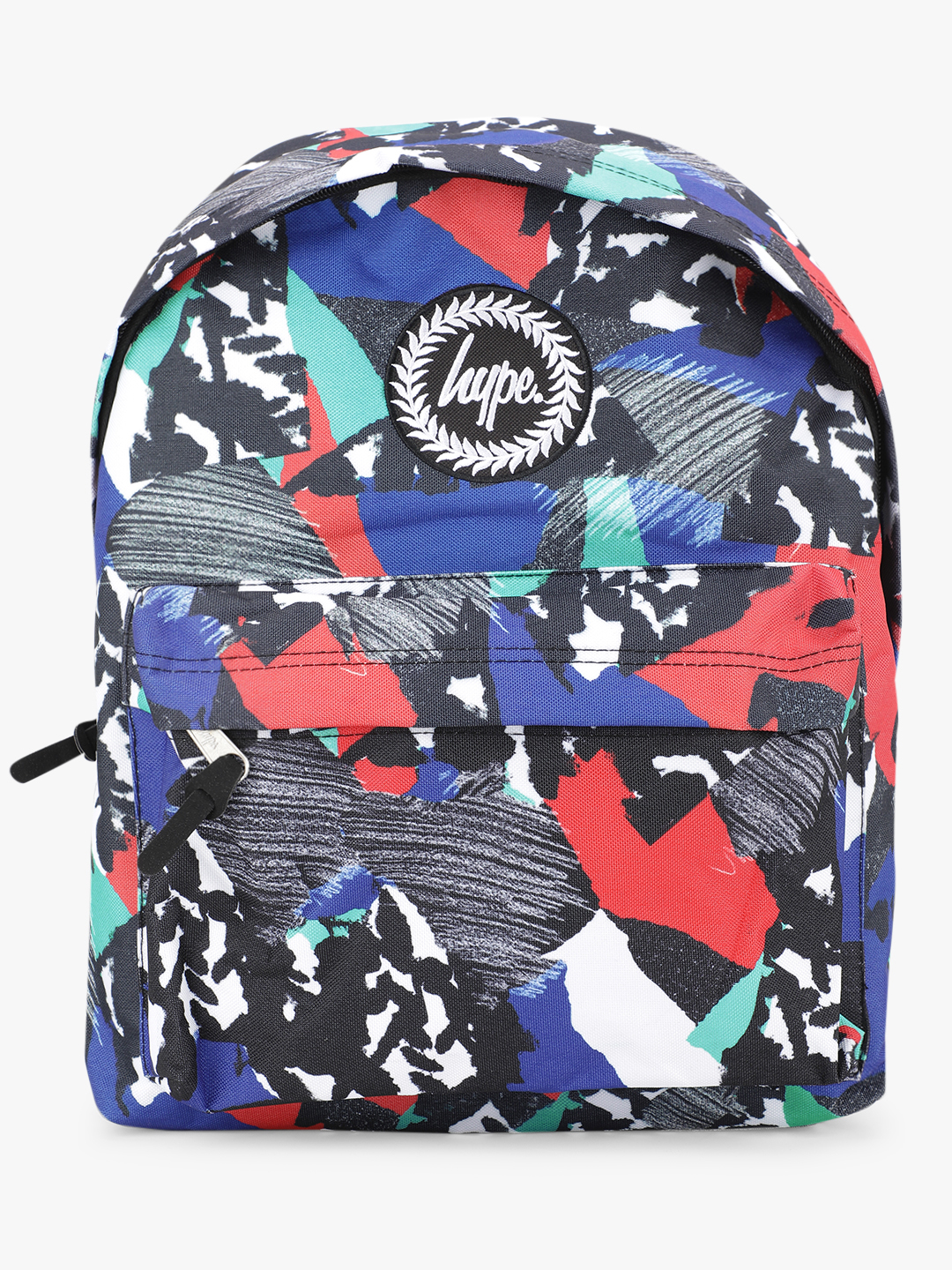 Hype Multi Abstract Print Backpack 1