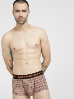 Jack & Jones Micro Arrow Check Print Trunks