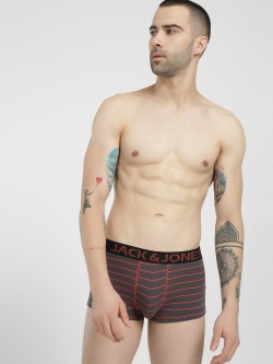Jack & Jones Ranger Stripe Print Trunks