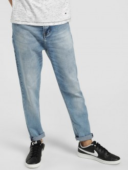 Lee Cooper Light Wash Carrot Fit Jeans