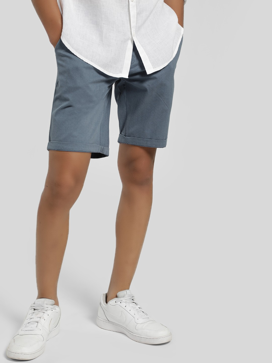 Lee Cooper Blue All Over Print Shorts 1