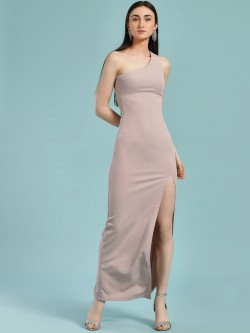 Ax Paris One Shoulder Maxi Dress