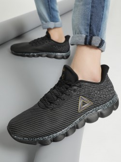Peak Double Knitted Running Shoes