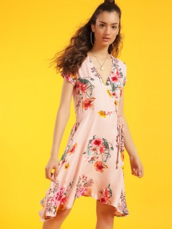 Miaminx Floral Print Shift Dress