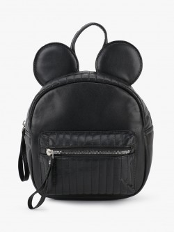 Paris Belle Ear Detail Quilted Mini Backpack