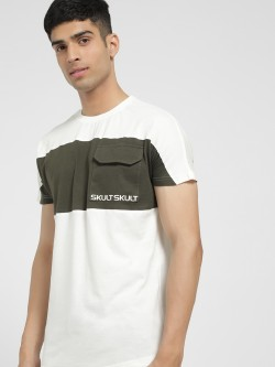 SKULT By Shahid Kapoor Short Sleeve Cut & Sew T-Shirt