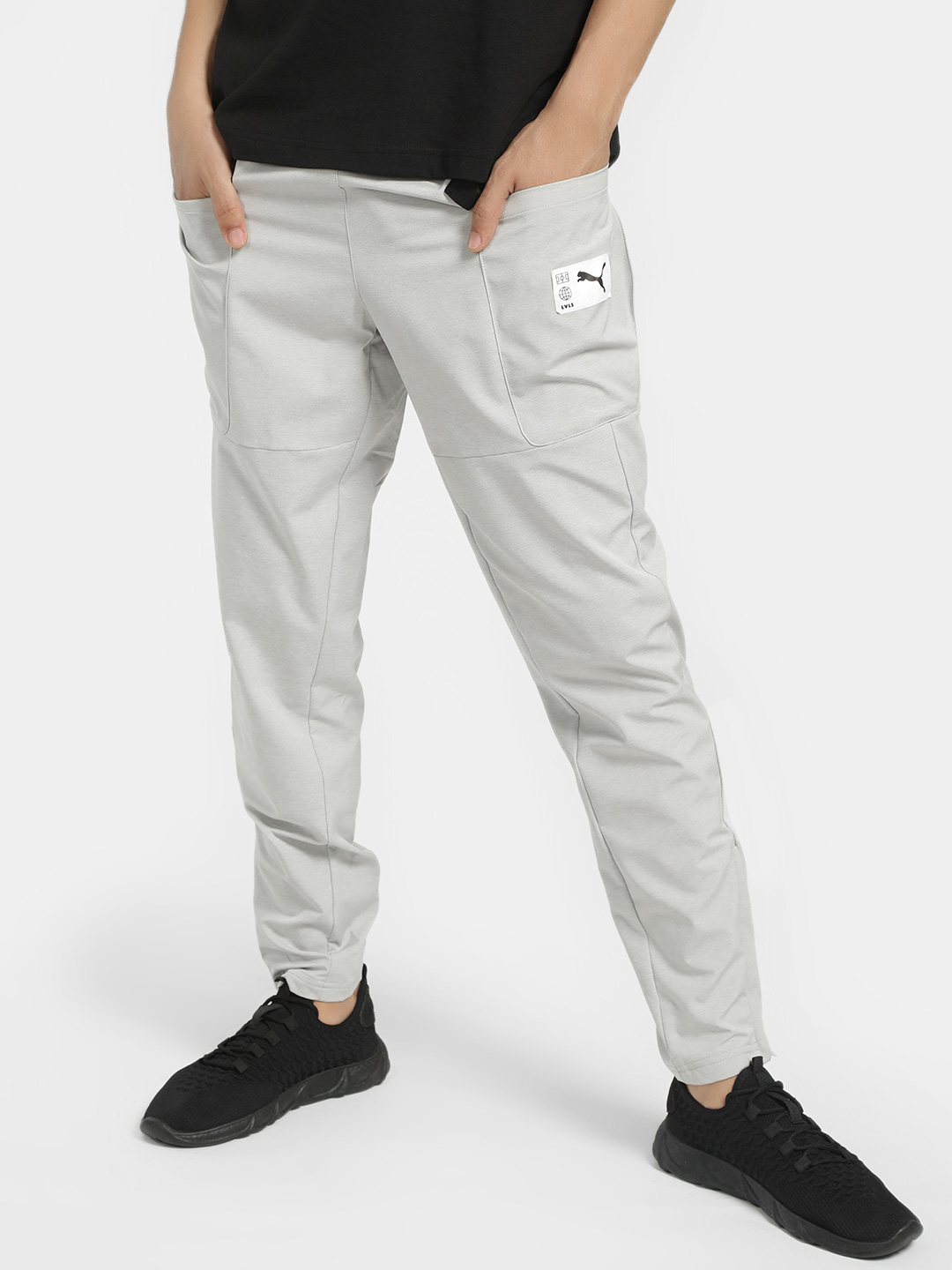 Puma Grey ftblNXT Sweat Track Pants 1