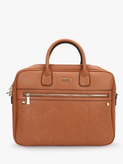 Ceriz Front Zipper Laptop Bag