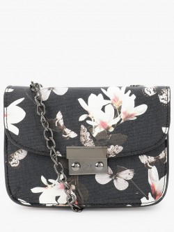 People Floral Print Sling Bag