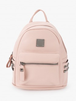 People Studded Pocket Mini Backpack