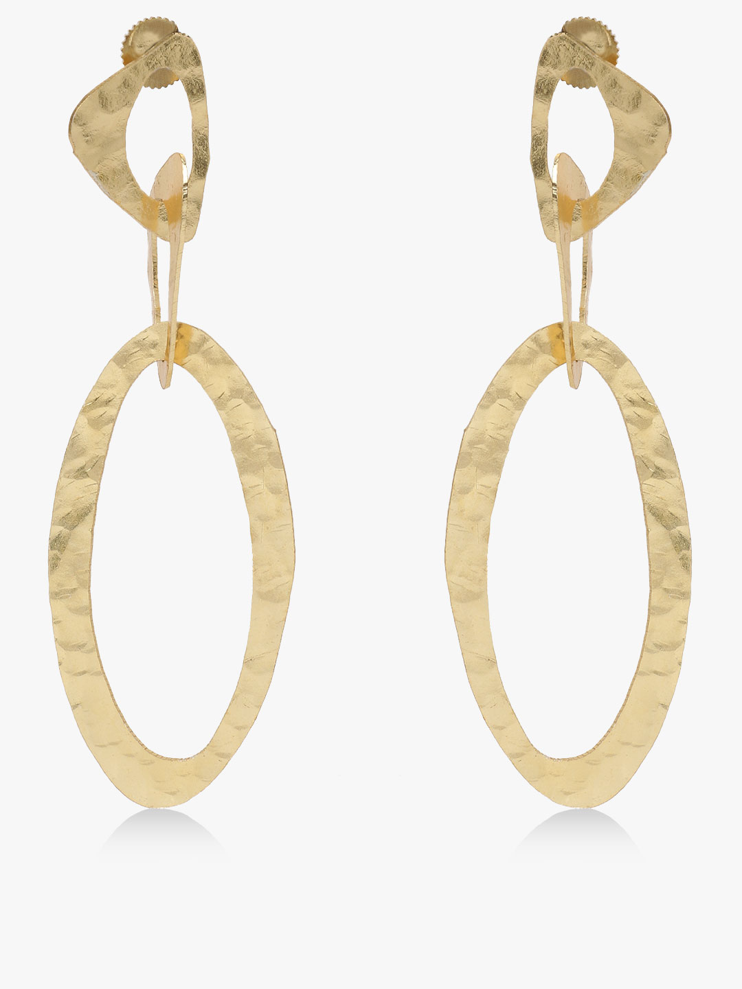 Zero Kaata Gold Geometric Earrings 1