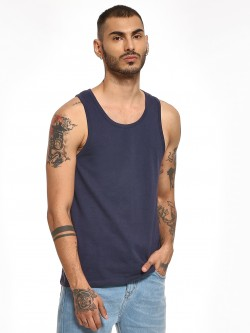 KOOVS Basic Round Neck Vest