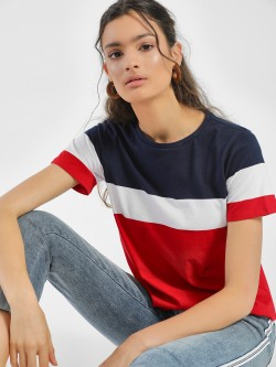 People Colour Block T-Shirt