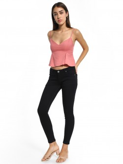 People Basic Low-Rise Skinny Jeans