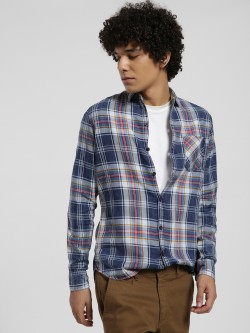 Disrupt Multi-Check Print Long Sleeve Shirt