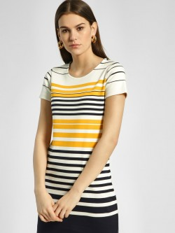 HEY Horizontal Stripe Bodycon Dress