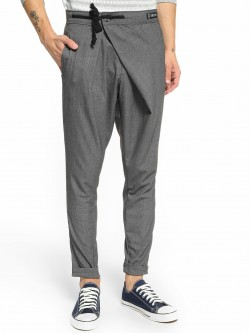 Kultprit Overlap Side Tie-Up Trousers
