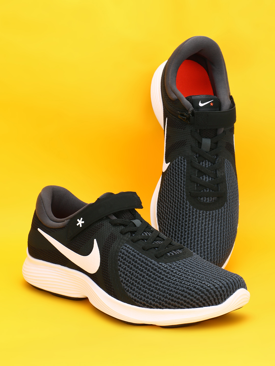 Nike Black Revolution 4 Flyease Shoes 1