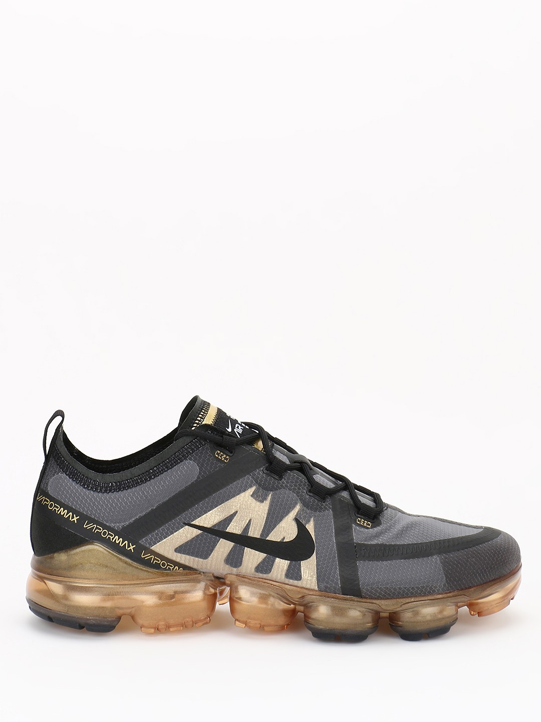 Nike Gold Air VaporMax 2019 Premium Shoes 1