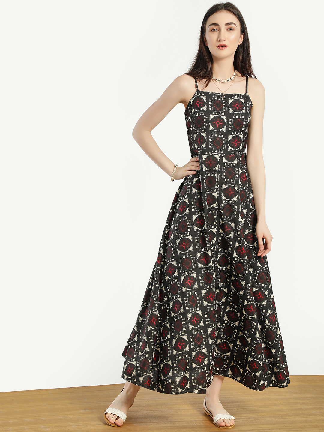 Kisscoast Print All Over Print Maxi Dress 1