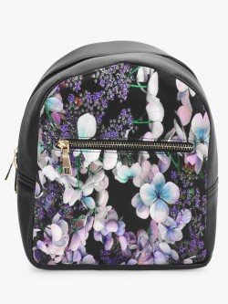 Gusto Floral Print Mini Backpack