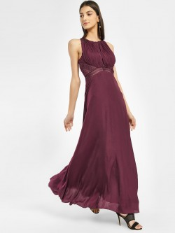 Vero Moda Marquee Cut-Out Work Maxi Dress