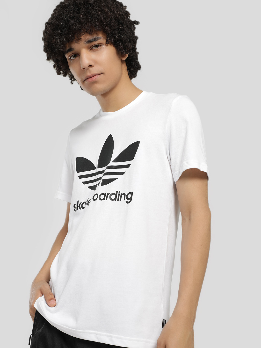 Adidas Originals White Clima 3.0 T-Shirt 1