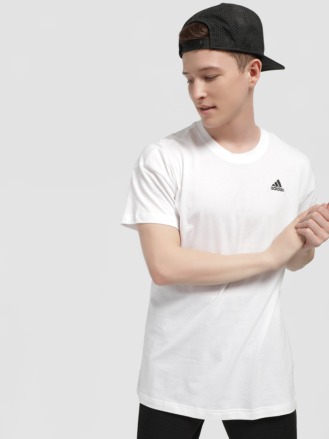 Adidas White Creator Graphic T-Shirt 1