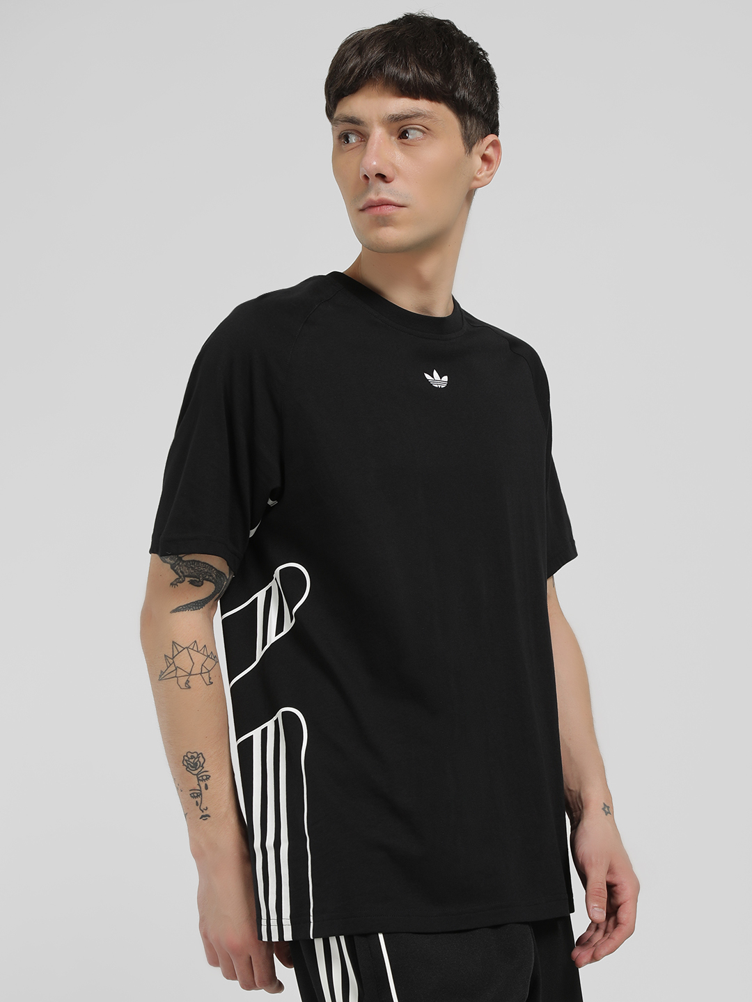 Adidas Originals Black Flamestrike T-Shirt 1