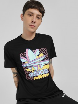 Adidas Originals Thaxter Graphic Print Logo T-Shirt